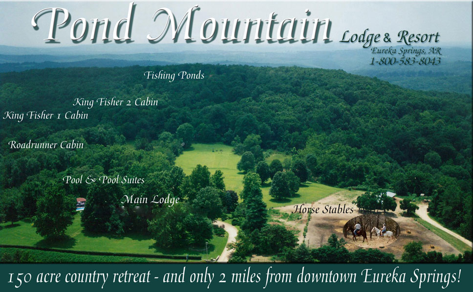 Pond Mountain Lodge Aerial View