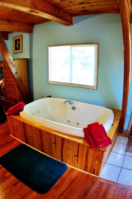 Cabin Kingfisher Jacuzzi Tub