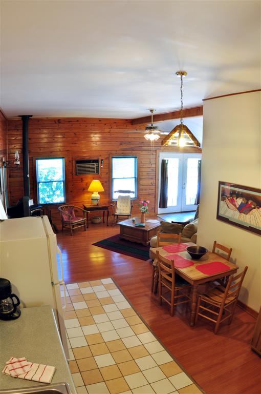 Cabin Roadrunner Dining Room