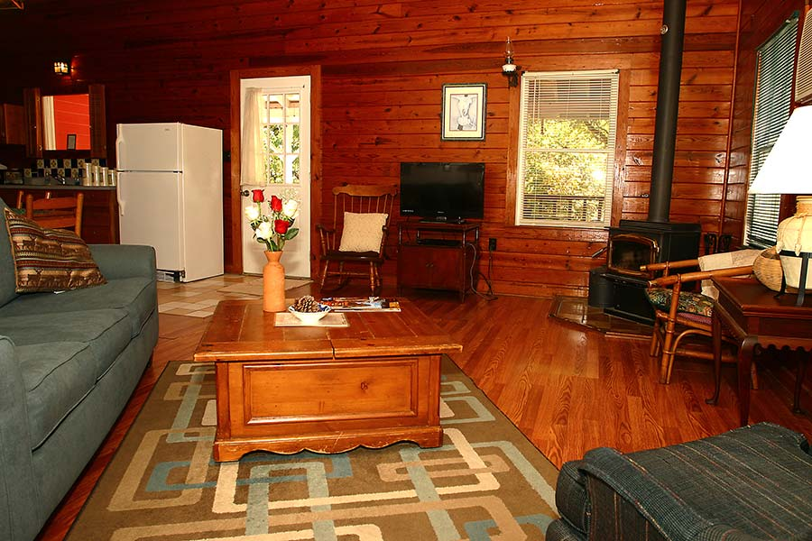 Roadrunner Cabin Living Room