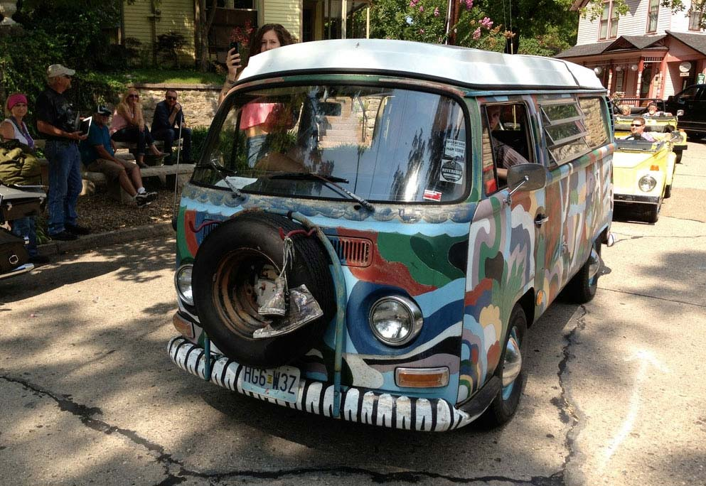 VW Festival & Parade Eureka Springs