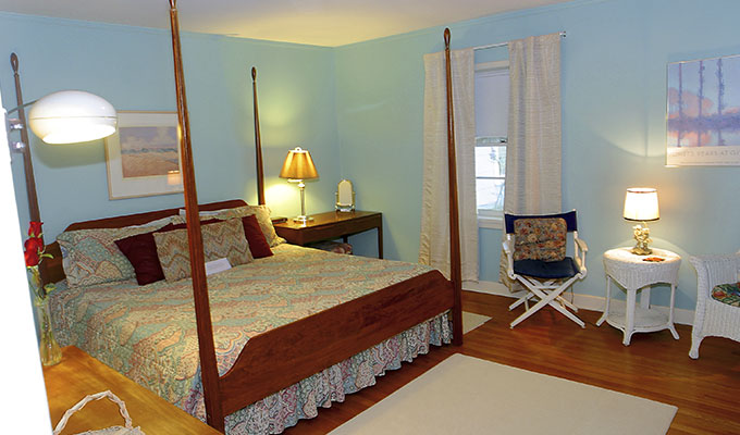 Whippoorwill Luxury Adult Suite Bedroom